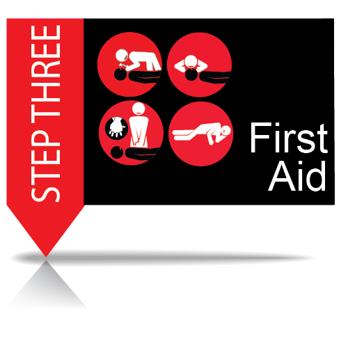 Step 3 - Give First Aid
